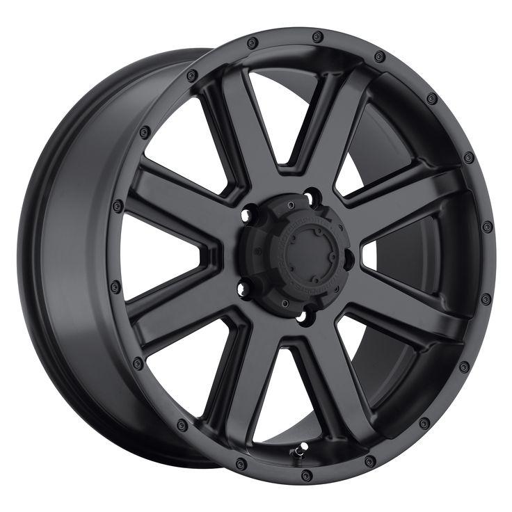 Ultra Wheels 195 Crusher Satin Black