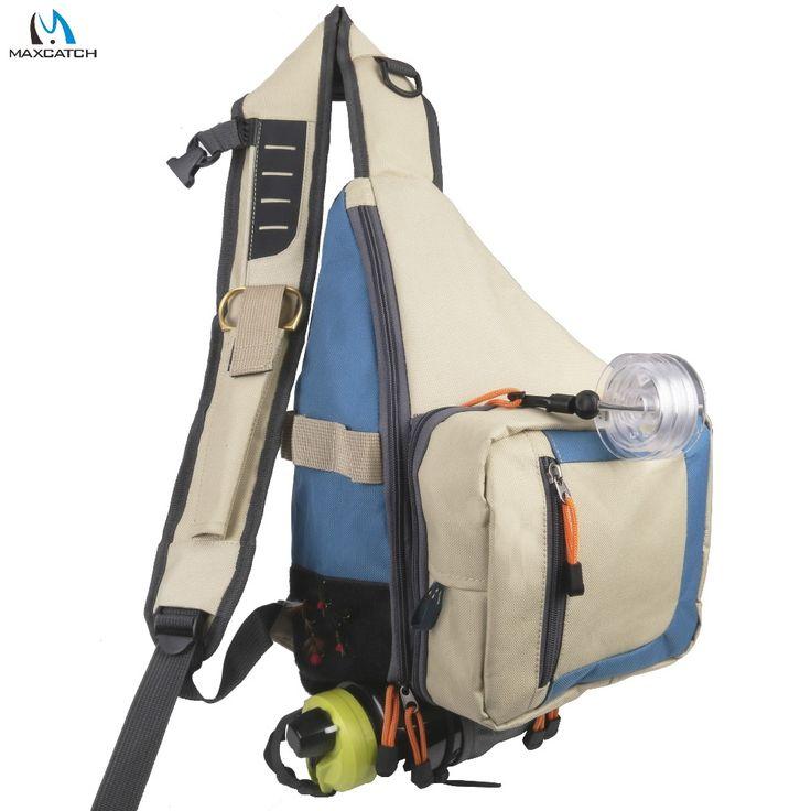 Maximumcatch fishing bag fly fishing sling pack bag light