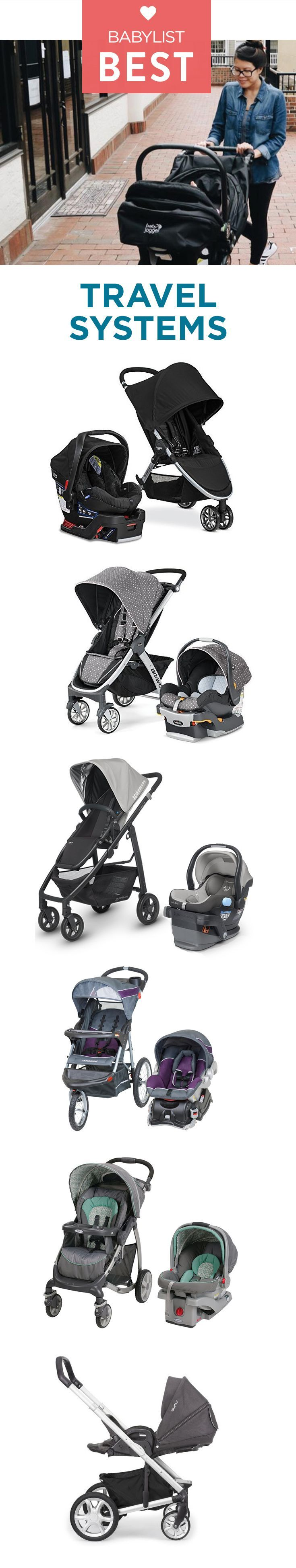 Looking for a car seat and stroller that clip together? Whether you're hunting for a jogging stroller or a luxury bassinet, these best six travel systems have got you covered.
