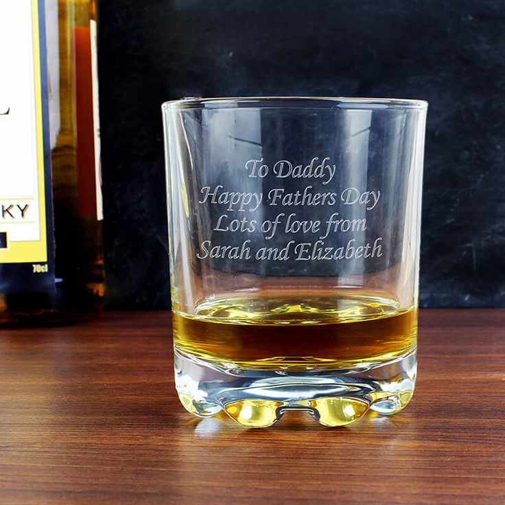 Personalised Whisky Tumbler This beautiful stern whisky glass is the perfect gift for a whisky drinker! This glass truly makes the perfect personalised gift for any occasion! Personalise the front of the glass with any message o http://www.MightGet.com/january-2017-13/personalised-whisky-tumbler.asp