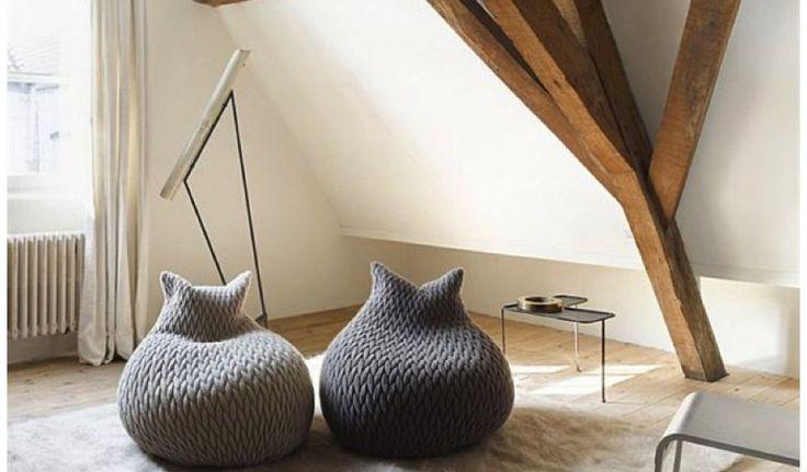 Source: Northern Icon Prøv lige at se denne smukke sækkestol - jeg er solgt! Og det er altså første gang, det er sket med en sækkestol, for selvom komforten er god, så plejer de bestemt ikke at fryde mine øjne (her tænker jeg især på Fa....