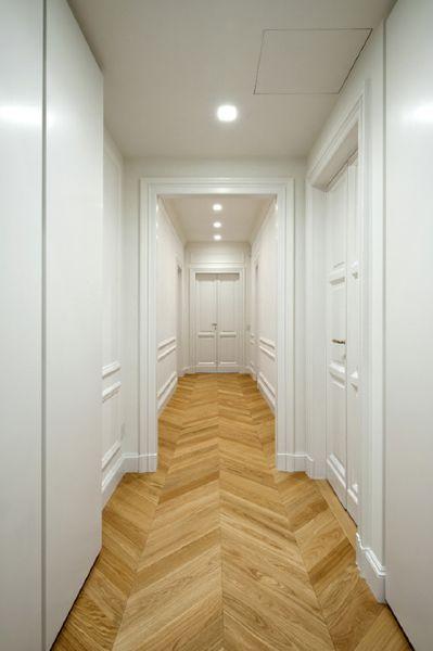 Oltre 25 fantastiche idee su boiserie corridoio su - Mobili corridoio stretto ...