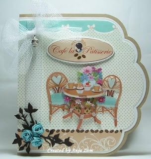 Anja Zom kaartenblog. Looks like SPB's Grand Labels 11 was used to cut the scalloped edge of this card.