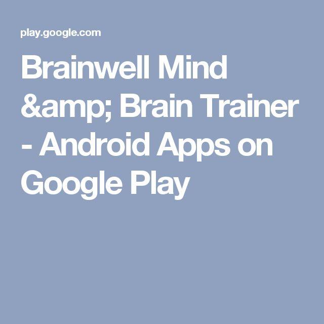 Brainwell Mind & Brain Trainer - Android Apps on Google Play