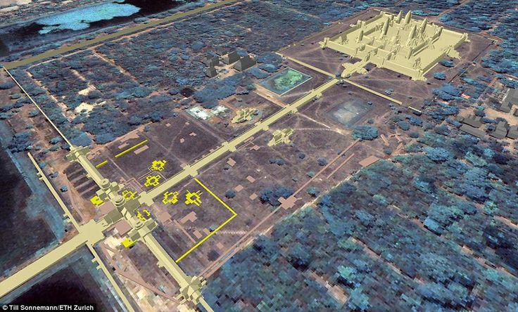 Una scoperta che dimostra come il complesso di Angkor Wat è molto più grande di quanto si credesse in passato
