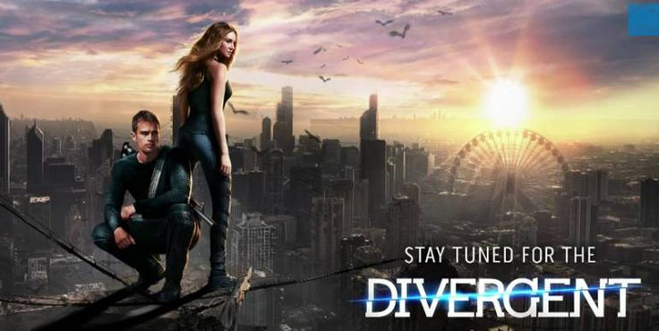 Divergent - It's one of the best movies I watched so far this year.