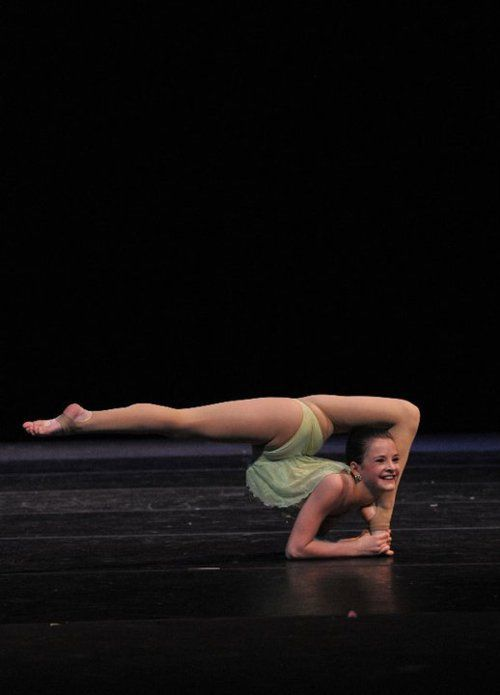 Sup everybody. I'm Brooke from Dance Moms and I just broke my legs onstage. no big deal.