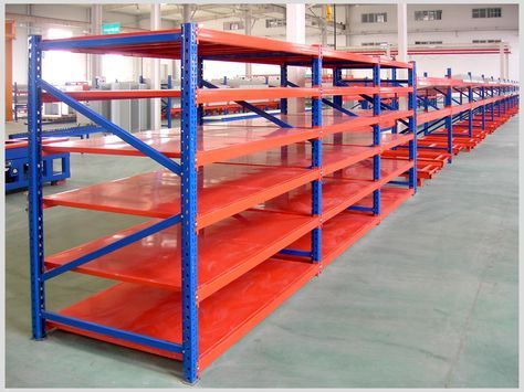 Longspan shelving is also called medium dut racking, it is a strong, durable, versatile and economical shelving system that looks nice and minize lost space from uprights making it ideal for a wide variety of applications from archives to automotive, factories, warehouses, retail, wholesale and commercial. skype:notsosimple610