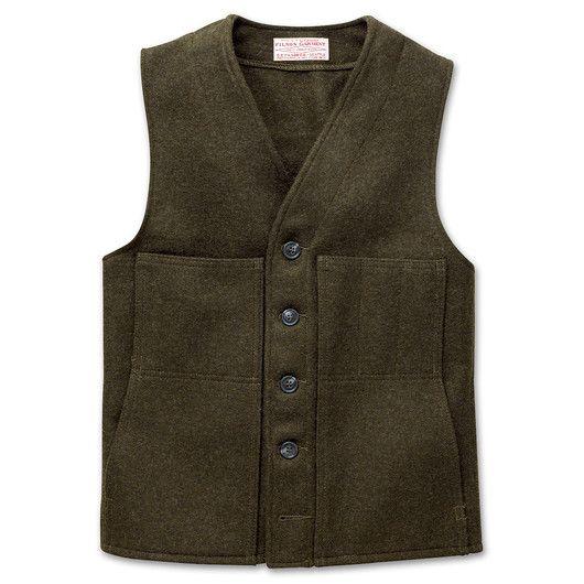 www.Filson.com | Mackinaw Wool Vest