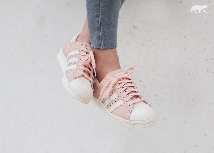 adidas Superstar 80s W (Blush Pink / Off White / Blush Pink)