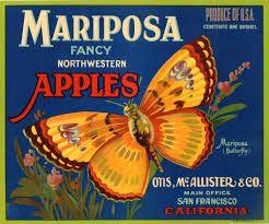 Image result for apple fruit crate art