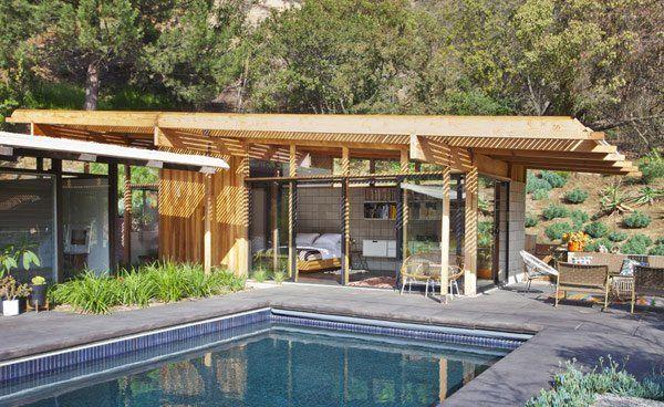 modern guest house,modern,architecture,bruce bolander