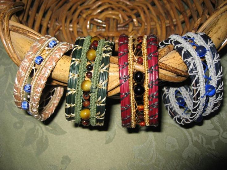Kelp Kreations - Pine Needle Bracelets