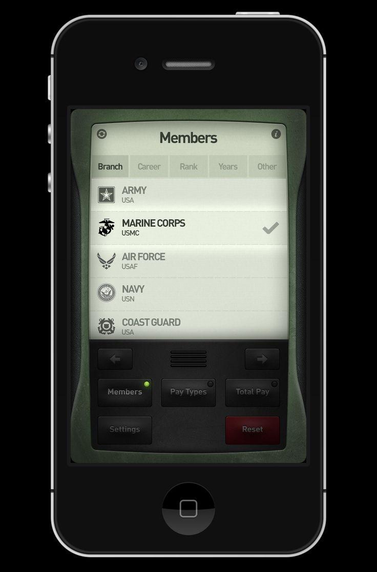 Dribbble social app ui design jpg by ramotion - Army App Ui Design And Development By Creativedash Via Behance