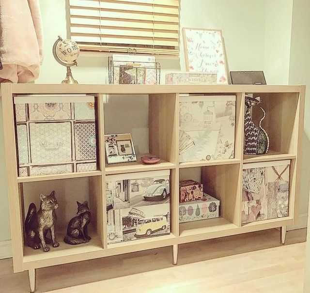 KALLAX oak effect, Shelving unit