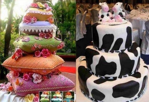 10 gâteaux de mariage insolites !  jadore