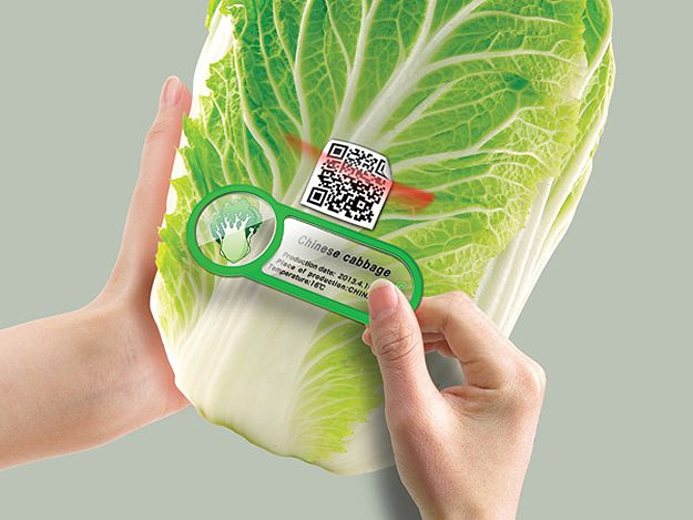 QR Fridge Magnets Keeps Track Of Your Food's Expiration Dates #technology