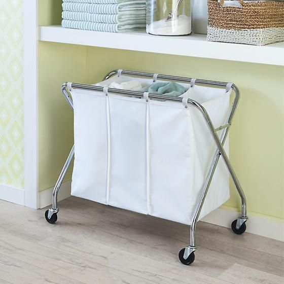1000 Ideas About Laundry Sorter On Pinterest Rustic