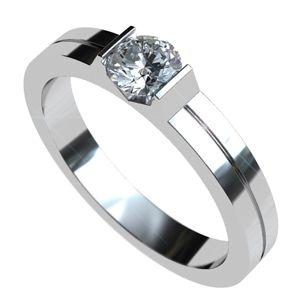 Anillo de Compromiso con diamante #solitario @EternityJoyeria