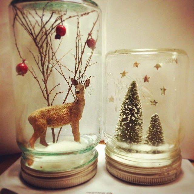Lurer du på hvordan du kan bruke Norgesglassene dine til å pynte til jul? Snart kommer det et nytt blogginnlegg på hjemmesiden vår. www.norgesglasset.no Av @anethereser (Instagram)