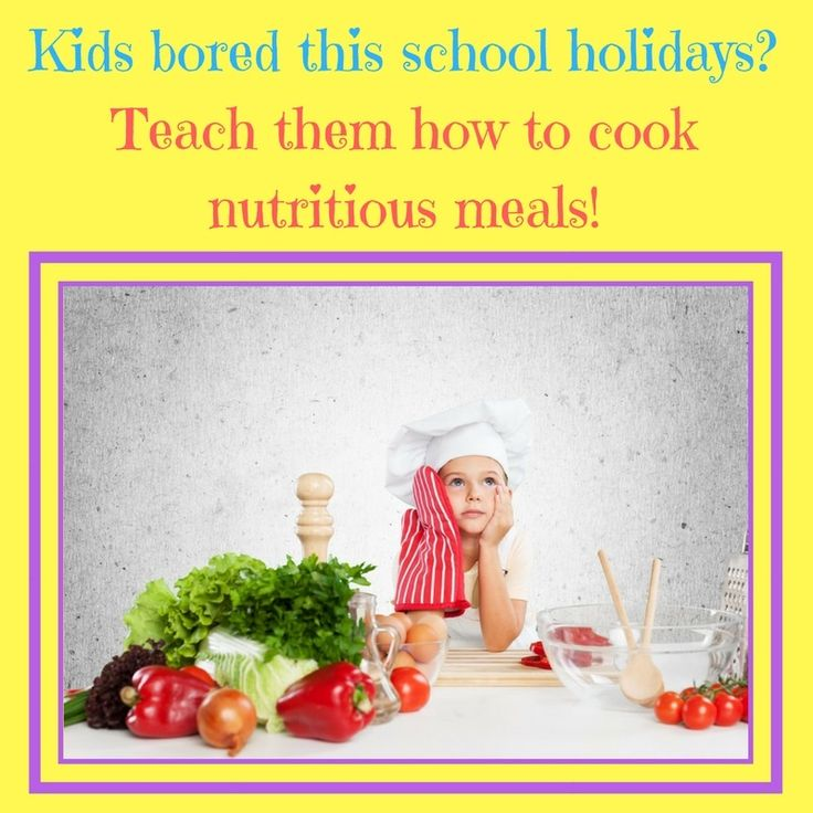 Little budding chefs in the making this school holidays!