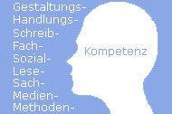 Bereichs-Logo. Aunque es solo un logotipo, figuran las diferentes competencias que se pueden adquirir. La página, alemana, no tiene desperdicio, pues abarca la formación del profesorado.