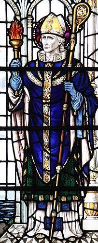 St. Aidan, Bishop of Lindisfarne - © Nash Ford Publishing