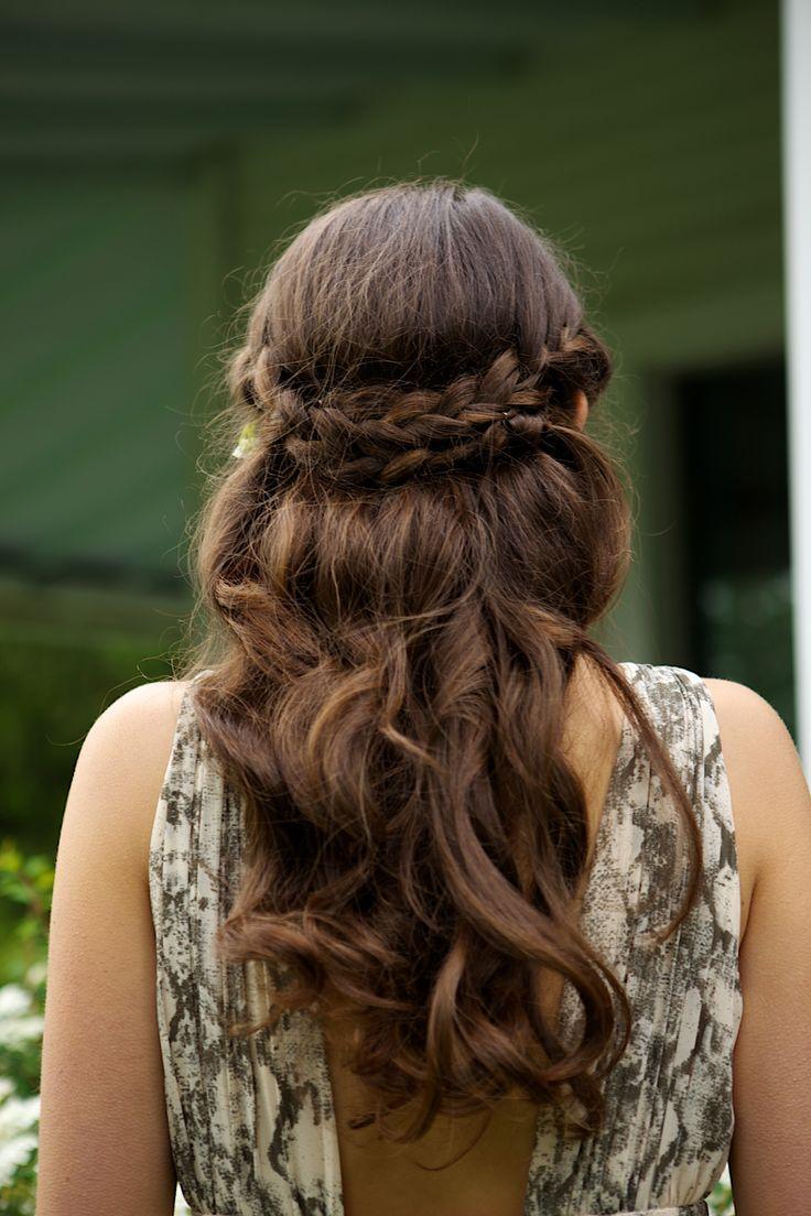 Quick Hairstyles Long Hair Crown Braids Braid