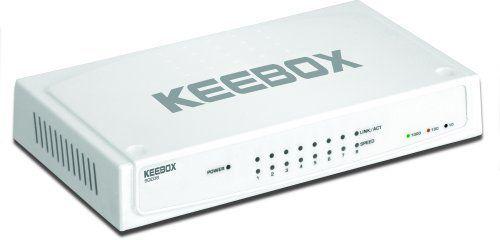 KEEBOX SGE08 8-Port 10/100/1000Mbps Gigabit Ethernet Switch by Keebox. Save 15 Off!. $29.35. KEEBOX SGE08 8-Port 10/100/1000Mbps Gigabit Ethernet Switch