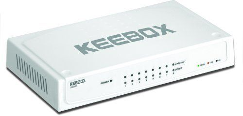 KEEBOX SGE08 8-Port 10/100/1000Mbps Gigabit Ethernet Switch by Keebox. Save 15 Off!. $29.35. KEEBOX SGE08 8-Port 10/100/1000Mbps Gigabit Ethernet Switch