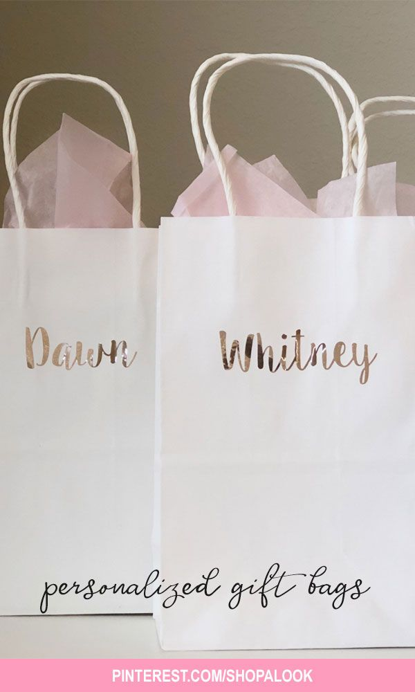 Rose Gold Gift Bags Bridesmaid Gift Bags Personalized Gift Bags Bridesmaid Proposal Ideas Wedding Gift Bag Bridesmaid Gift Idea Gift Bridesmaid Gift Bags Wedding Gift Bags Bridesmaid Proposal