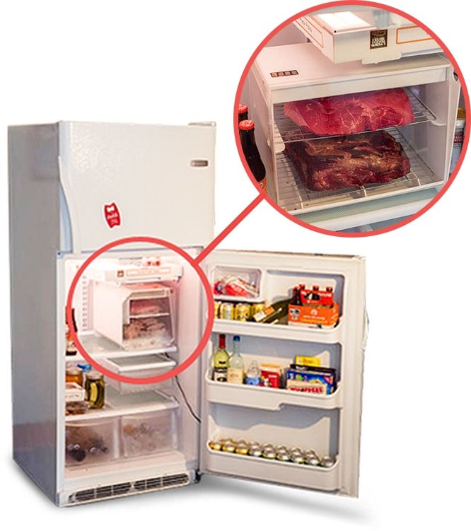 If you are looking for an affordable solution to  dry age beef at home, then SteakAger is correct choice for you. It is a Dry Aged Beef Refrigerator that safely and perfectly isolates your beef, while aging it.