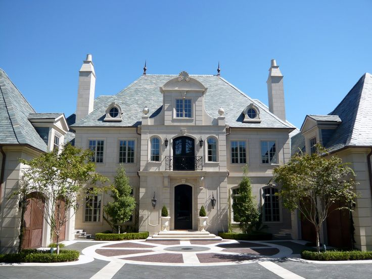 French Classical House In Highland Park Tx French Architectural Designs By Richard Drummond Davis Architecture French Classical Home Pinterest