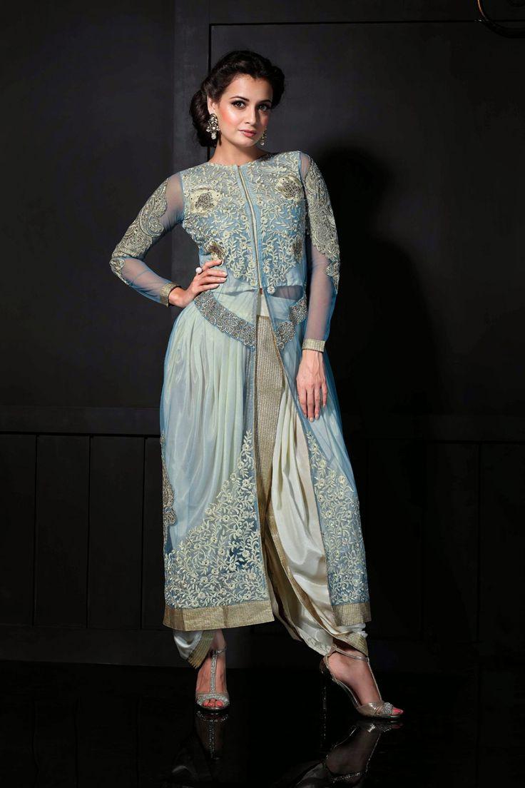 Go Glamorous with Diya Mirza Blue Net Salwar Kameez Shop now @ http://zohraa.com/salwar-kameez/suits-dresses/celebrity/blue-net-salwar-kameez-z1724p27864-1.html sku : 64030 Rs. 4,499 #anarkalisonline #anarkalisuits #suitsonline #suits #anarkalis
