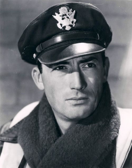 Gregory Peck. Sarah wanted to SEE his pecks!!!