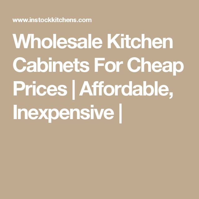 25 best ideas about Cheap kitchen cabinets on Pinterest