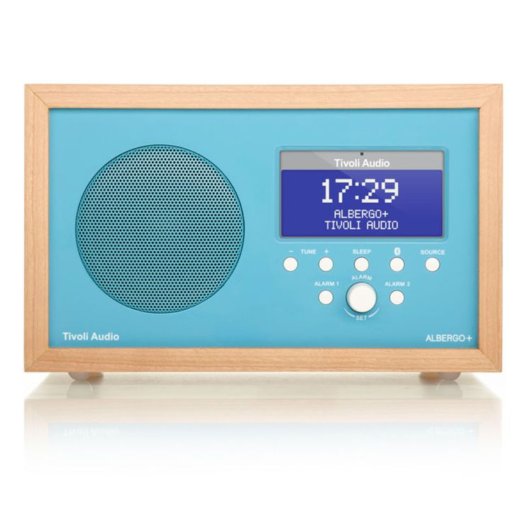 top3 by design - Tivoli - Albergo FM/DAB+ bluetooth blue