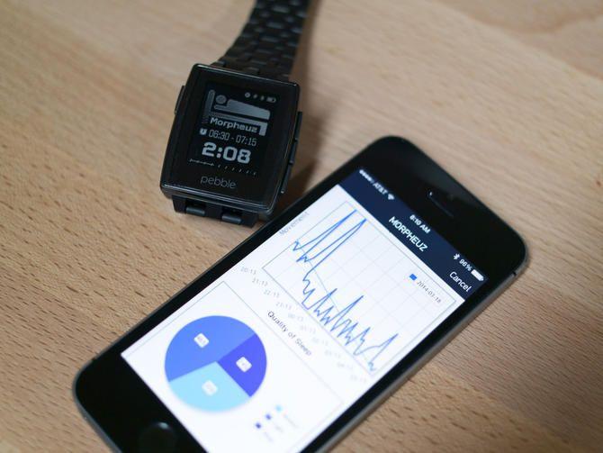 Morpheuz Pebble app helps track your sleep
