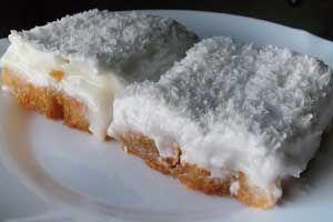 Kar Yağdı Tatlısı Tarifi - Resimli Kolay Yemek Tarifleri