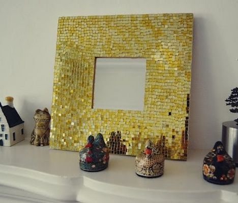 17 migliori idee su decorare specchio su pinterest - Specchio con mosaico ...