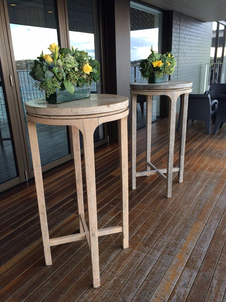Deck tables www.bespokesocial.com.au