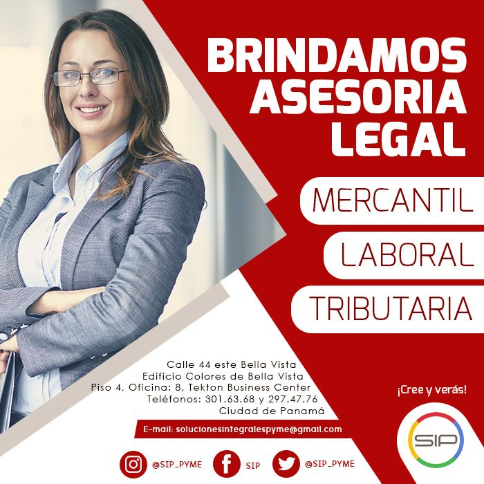 Asesoría legal especializada con los expertos en derecho panameño. Consulta con nosotros tus dudas al +5076838-5209