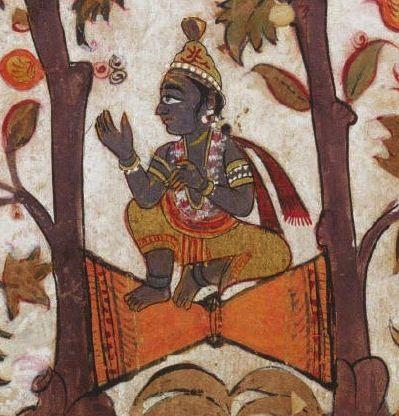Indian Epics: Images and PDE Epics: Krishna Splits the Double Arjuna Tree