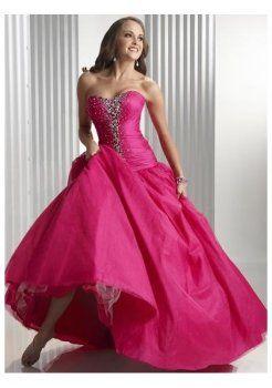 bustier empire corsage longueur d'une ligne de 2012 longues robes de bal