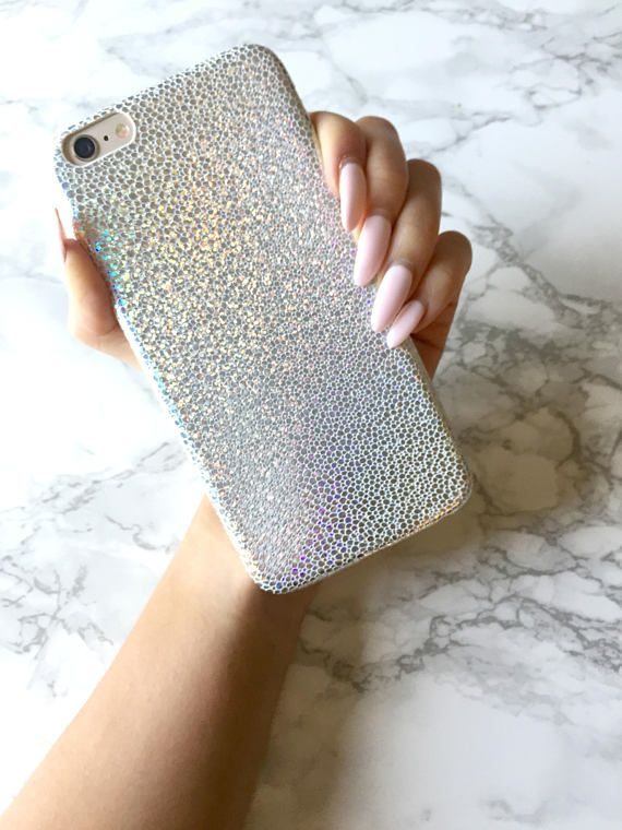 62cb7284dc Holographic Mermaid Sparkle Glitter iPhone X 8 7 6 6s Plus Case Mermaid  Reflective Mermaid Crocodile
