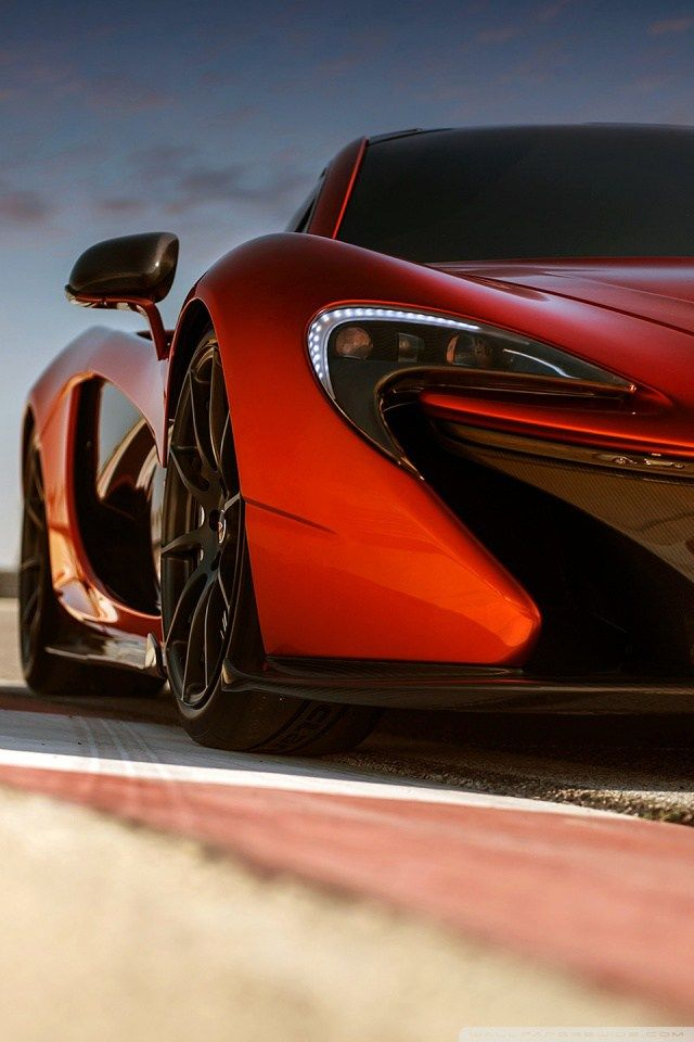 Wallpaper For Iphone X 2014 Mclaren P1 Ready To Go Wallpaper 640960 4k Hd Super Cars Mclaren P1 Mclaren