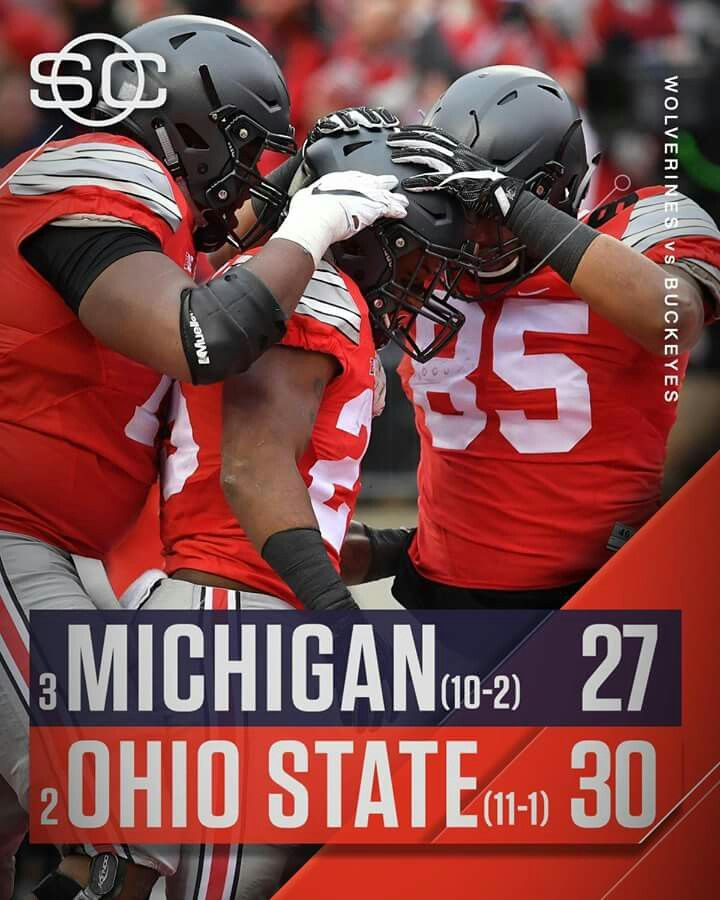 Dan Right...✔✔✔ Way to GO BUCKEYES! ! #BeatTTUN ✔✔ What A Win