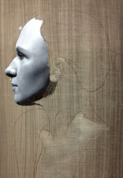 grisaille painting in progress… oil on linen