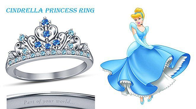 Permalink to Cinderella Crown Ring