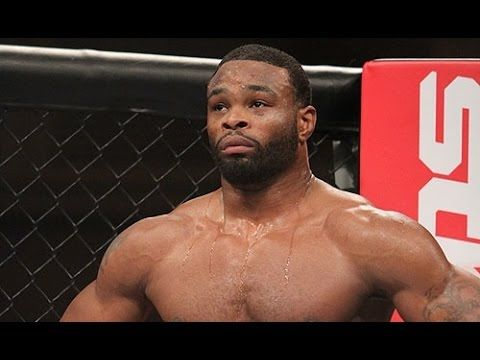 Dana White Dishes on Tyron Woodley Turning Down Hector Lombard Fight (UFC 177 Scrum)